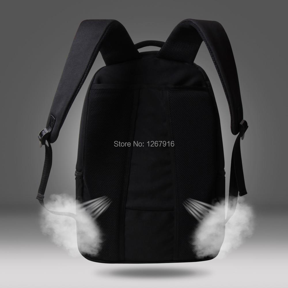 Sac d'ordinateur Animal chimpanzé, sac à dos pour ordinateur portable d'impression 3D pour ordinateur portable 14 '', sacs d'école collégiale, mochila pour les jeunes garçons - 4