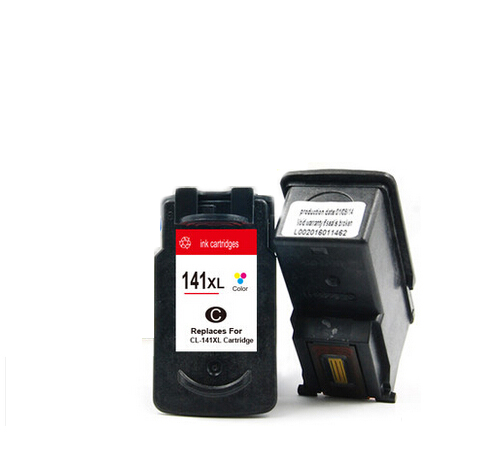 Compatible Ink Cartridge For Canon cl141 cl 141 for canon MG2580 MG2400 MG2500 IP2880 ink printer