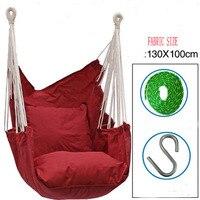 Good selling outdoor hammock Kids children Adult swing Chair indoor swinging single chair furniture