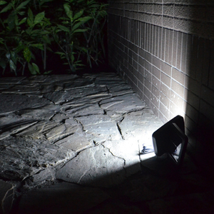 Image 4 - LED 태양 벽 빛 야외 태양 정원 빛 인간의 신체 유도 빛 방수 마당 거리 빛 벽 램프 정원 장식