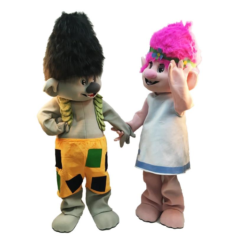 2019 Жаңа Troll Mascot Костюм Тролл Мінезі - Костюмдер - фото 2