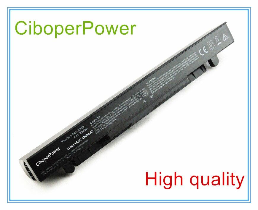 8 Cells Laptop battery For A450L A450C X550C X550B X550V X550D A41-X550A