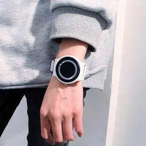 Image 3 - Nuevo Producto, reloj de concepto de tendencia sin puntero, marca creativa Simple, relojes para hombre y mujer, reloj femenino