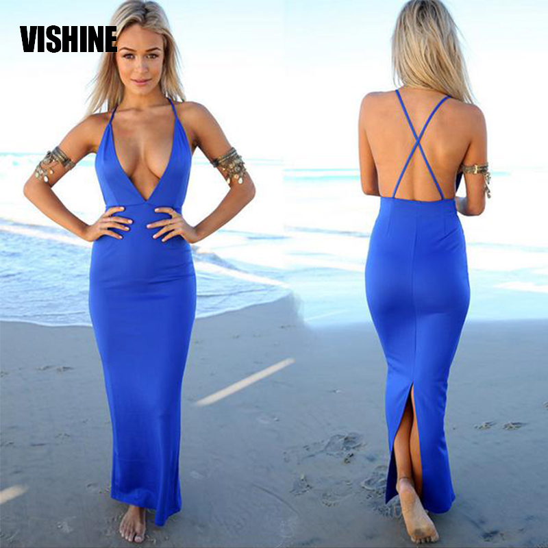 Aliexpress.com : Buy New 2015 Summer Style Maxi Dress Sexy Women ...
