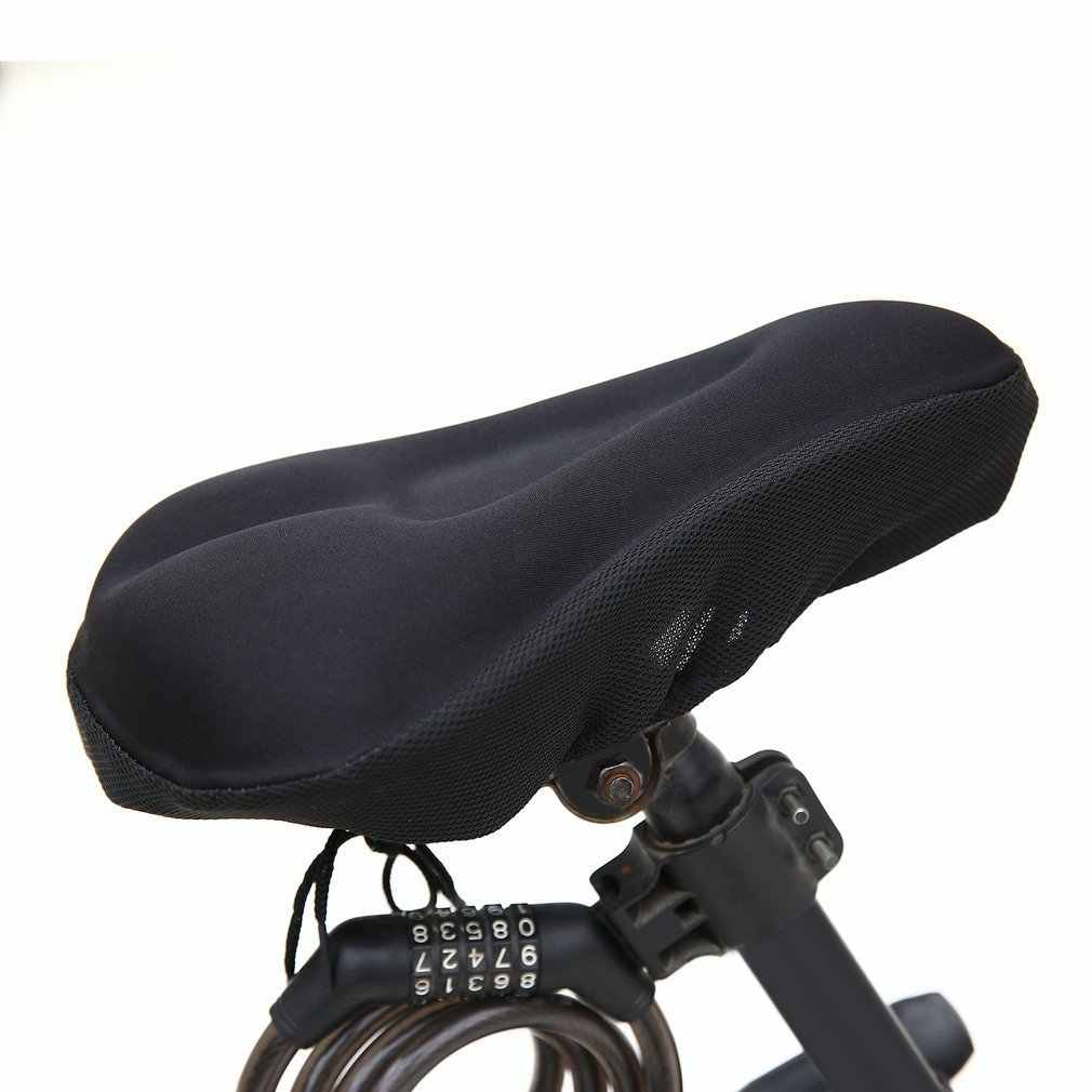 العالمي 3D الإسفنج هلام سادة لينة سميكة دراجة دراجة غطاء السرج مقاوم للمياه الدراجات وسادة مقعد الدراجة ركوب مقعد الجلوس Protecter