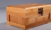 Hand gemacht natürliche Bambus aufbewahrungsbox schmuckschatulle platte bolzenohrrings ohrringe ring umweltfreundliche aufbewahrungsbox natürliche aufbewahrungsbox