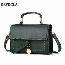 REPRCLA новый роскошный Для женщин кожаная сумка Высокое качество PU сумка Брендовая Дизайнерская обувь Crossbody сумки небольшой Модные женские сумки