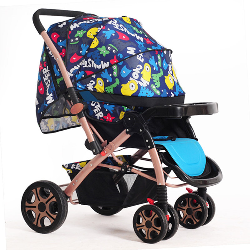 High-quality Portable Baby Stroller Poussette High Landscope Lightweight Umbrella Stroller for Travelling Baby Trolley carrinho high quality