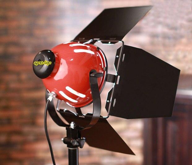 Nouveau Studio Vidéo 800 W Rouge tête Lumière Douce avec Ampoule Pour Matériel de Studio kit D'éclairage