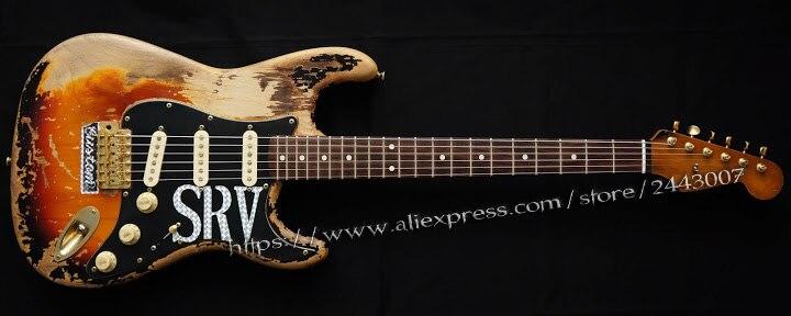 CG Custom Shop Masterbuilt Edicao Limitada Number One Guitarra Eletrica SRV Stevie Ray Vaughan Tribute Em Null De Sports Entretenimento No AliExpress