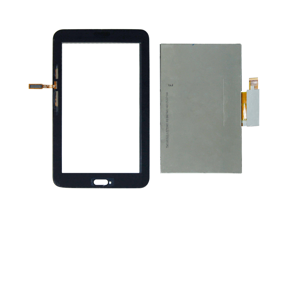 For Samsung Galaxy Tab 3 7.0 Lite SM-T110 Touch Screen Digitizer +Lcd Display Replacement Free Shipping replacement lcd touch screen module for samsung galaxy s4 i9500 blue