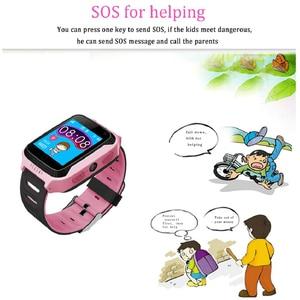 Image 4 - Q528 Kids Smart Watch with Camera Lighting GPS Smart Watch Sleep Monitor SOS Baby Clock 2G SIM Anti lost Childrens Smartwatch.