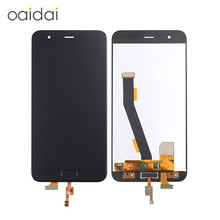 For Xiaomi Mi6 Mi 6 LCD Display Touch Screen Mobile Phone Lcds Digitizer Assembly Replacement Parts With Free Tools