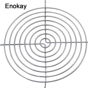 Enokay 10 шт. в партии, защитная решетка вентилятора 14 см 140 мм, железная сетка, чехол для компьютера, защитная сетка для вентилятора