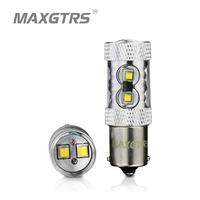 50W 1156 LED Reverse Lights P21W Turn Signals Lamp Super Bright BA15S 1141 Car Tail Bulbs