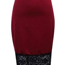6a60861b5 Compra red lace skirt y disfruta del envío gratuito en AliExpress.com