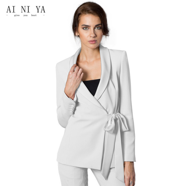 New Pant Suits Women Casual Office Business Formal Work Wear 2 Piece Sets Uniform Styles