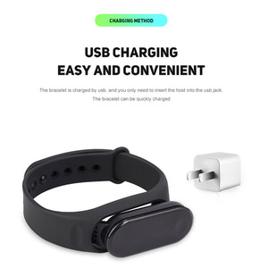 Image 5 - !ACCEZZ Smart Band Bracelet For Xiaomi Blood Pressure Measurement Colorful Screen Wristband Fitness Tracker M3 For IOS Android