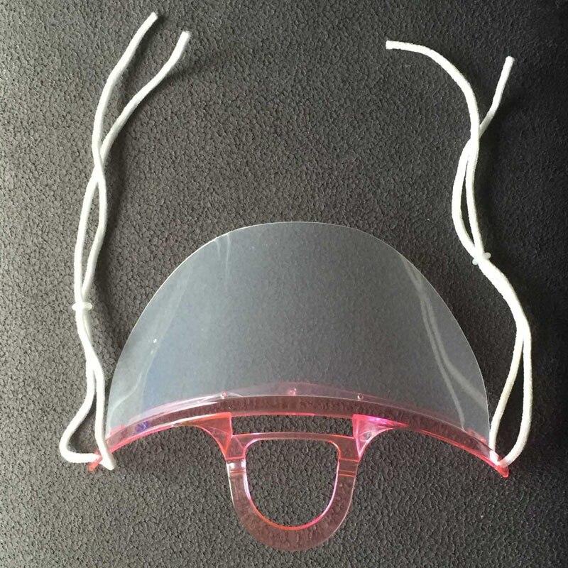 20 pcs pack t restauration services poussière des masques mignon  chirurgical vert transparent masques double-face anti-brouillard  chirurgicaux à la mode ... 059a6e4ab2d5