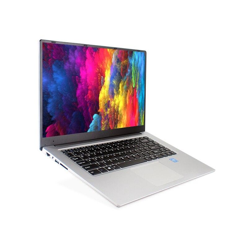 AMOUDO-X5 15.6 pouces 6 GB Ram 128 GB/256 GB SSD Intel Quad Core CPU 1920X1080 P FHD Windows 10 Système Ordinateur Portable Ordinateur portable