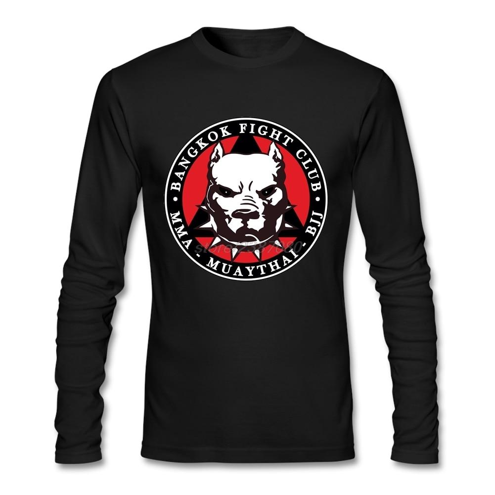 가정 착용 특대 Tshirt 자연적인면 남자 남자 티 셔츠 가정 착용 MMA Muay 타이 BJJ-Bangkok 전투 클럽 Mens 티