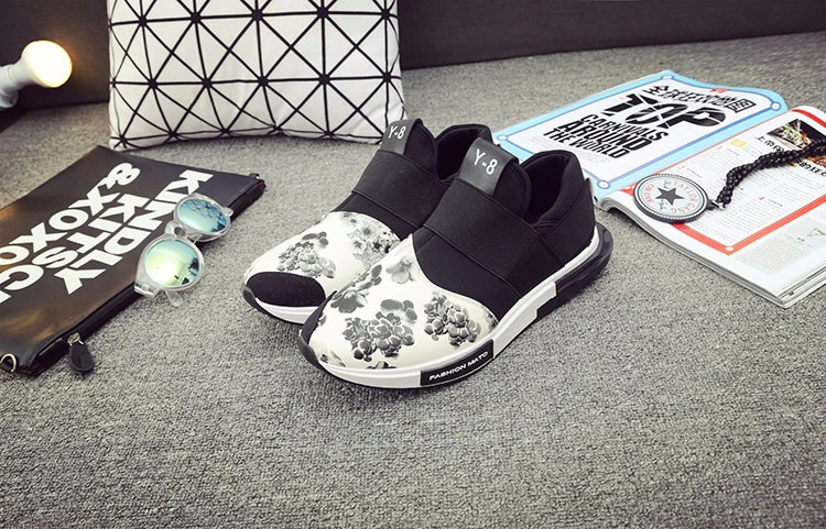 Hellozebra Men Print Flower Canvas Casual Air Mesh Shoes Soft Leather Bottom Casual Breathable Print Multi Shoe 2016 Autumn New (15)