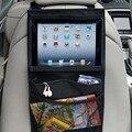 Asiento de coche de bebé niños ipad bolso colgante del coche holder reposacabezas tablet caja de la carpeta auto posterior del asiento de coche de múltiples bolsillos colgando de almacenamiento