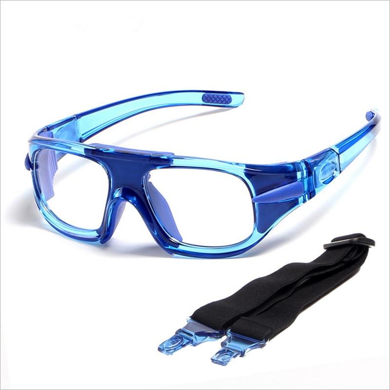 5280b6484 Armações de Óculos Moldura de Vidro Ótico ao ar de Proteção Futebol ...