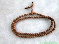 Огромный редкий 4 мм Индии kalrayan Hills диких сандалового дерева мала медитация 108 четки широкие крылья человека Jewellery