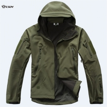 Lurker Shark Skin V 4.0 Military Tactical Softshell Jacket Men Windbreaker Waterproof Hoodie Clothes(China)