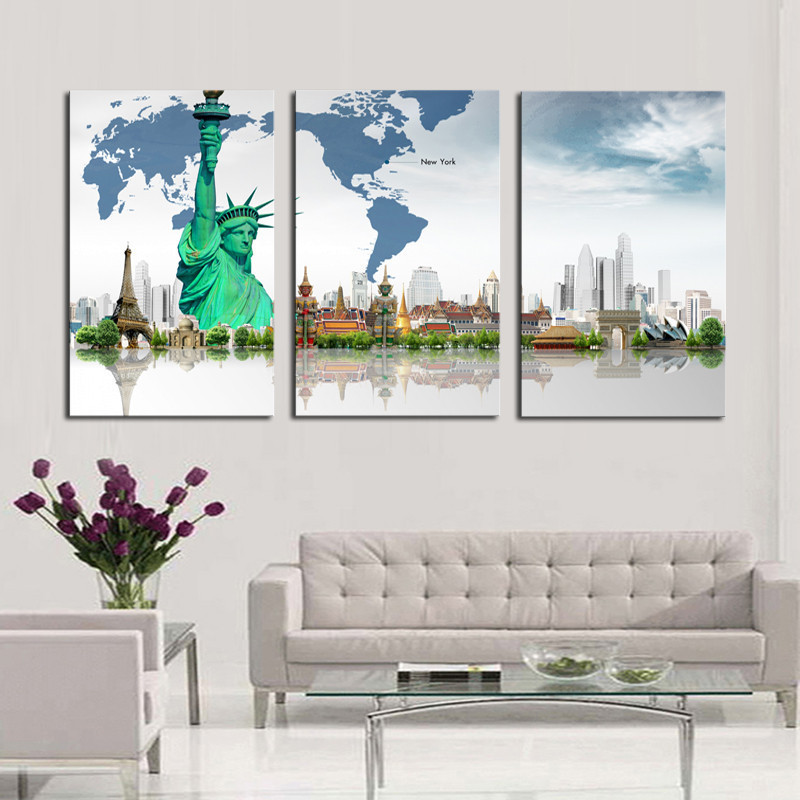Online Buy Wholesale Modern Architecture Prints From China