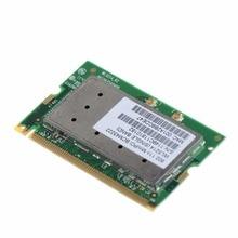 Записные книжки компьютер Сетевые карты Broadcom BCM94322 BCM4322 Mini PCI WLAN Беспроводной N WI-FI карты 300 м ноутбука Сетевые карты VHF71 P79