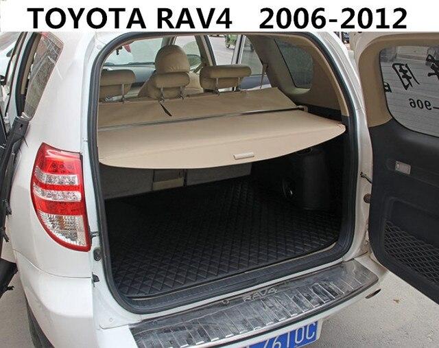 Car Rear Trunk Security Shield Cargo Cover For Toyota Rav4 2006 07