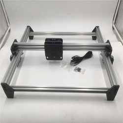 Zestaw mechaniczny Funssor DIY ACRO NEMA17 silnik krokowy wycinarka laserowa CNC 6mm zestaw płyt do systemu ACRO w Części i akcesoria do drukarek 3D od Komputer i biuro na