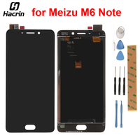 For Meizu M6 Note LCD Display + Touch Panel LCD Screen Digitizer Assembly Replacement For Meizu M6 Note Mobile Phone