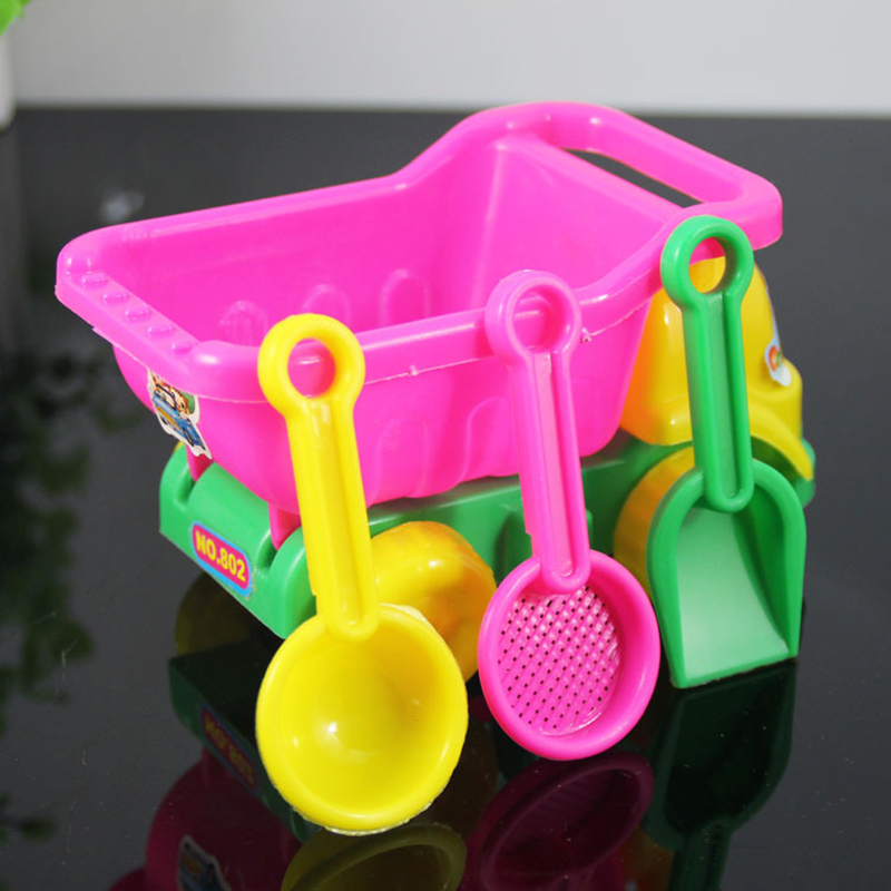 4 Pieces /Set Of ATV Colander Baby Play Sand Play Water Tools Mini Beach Toys Bath Toys Children's Toys Gift