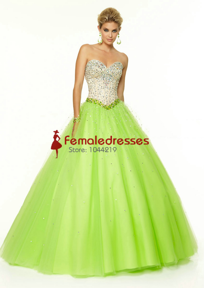 Aliexpress.com : Buy Glorious 2015 New Sweetheart Tulle Beaded ...
