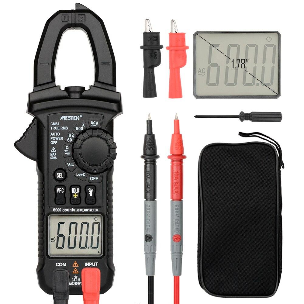 Mestek CM80/CM81 numérique pince multimètre pinza numérique multimetre pince multimètre pince de courant continu
