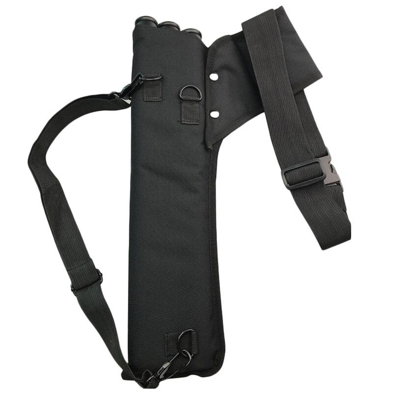 Archery Quiver 3 Tubes Quiver Arrows Holder Portable Back For Archery