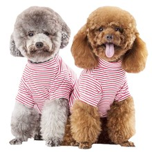 Pet-Vest Puppy-Clothes Summer Clothing Shirt Dogs-Costume Spring Perro Chihuahua Striped