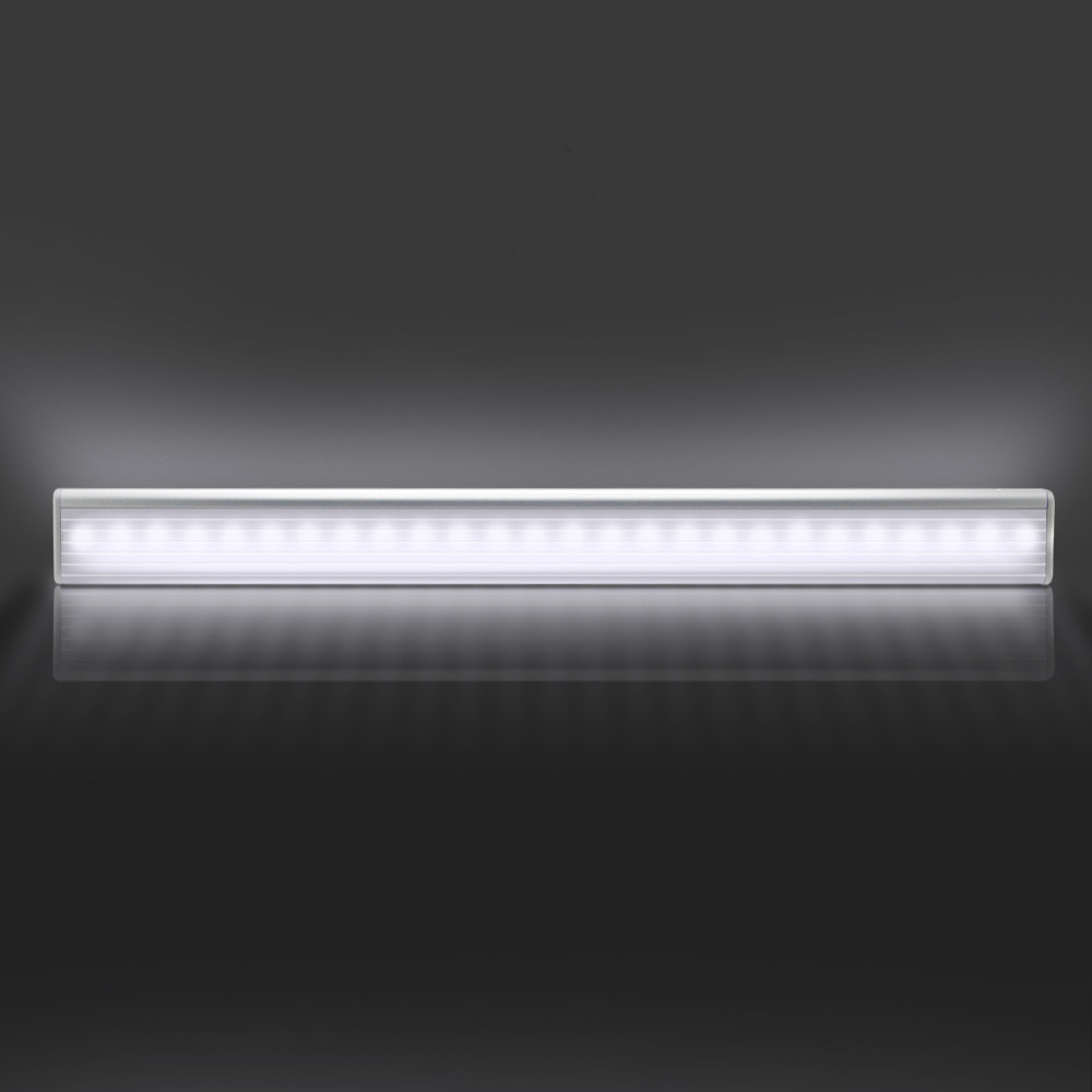 Rechargeable 27LED Sensor Night Light Dual Induction PIR Infrared Motion Sensor Lamp 4 Mode Switch Wireless Cabinet Stairs Light 50pcs wireless led pir infrared motion sensor induction night light battery operated living room ceiling cabinet light & lamp