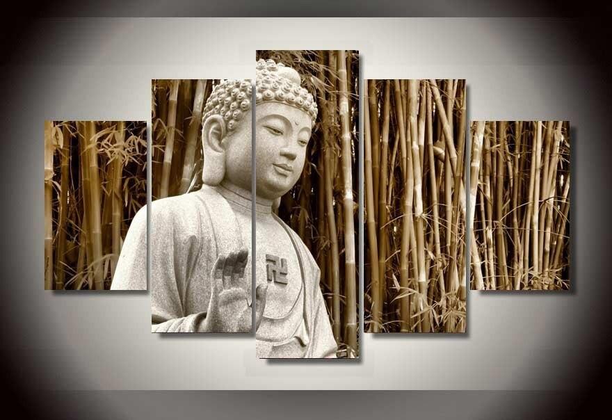 Online kopen wholesale boeddha ingelijste uit china boeddha ingelijste groothandel - Moderne schilderij volwassen kamer ...