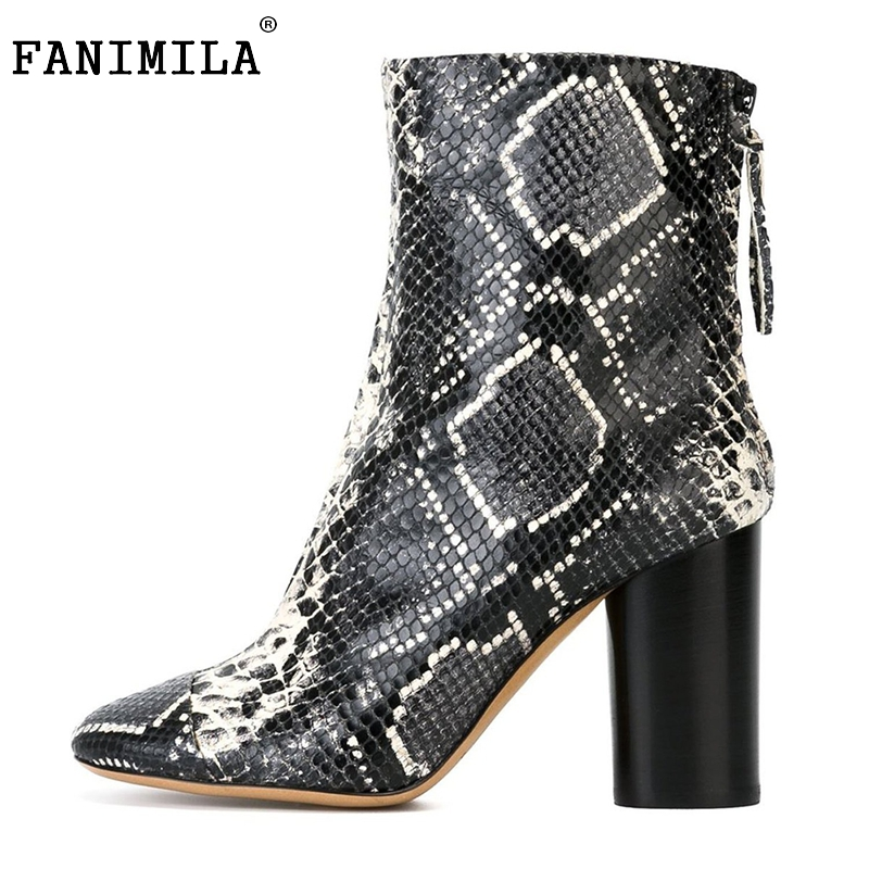 Women High Heel Sexy Floral Ankle Boots Zip Platforms Shoes Ladies Square Heels Vintage Botas Footwear Mujer Size 35-46 B212 vintage women pumps flowers embroidered ankle buckles canvas platforms ladies soft casual old beijing shoes zapatos mujer