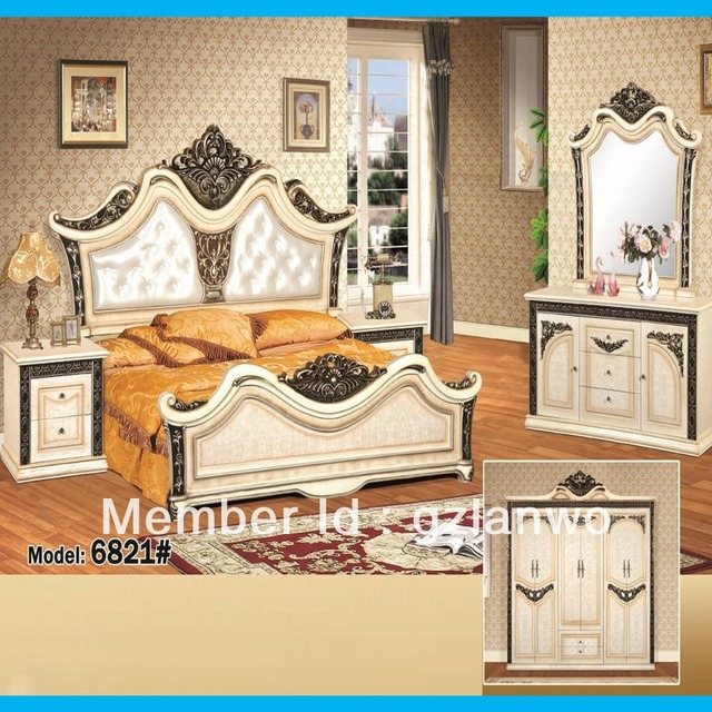 Hot sale high quality classic luxury house MDF wooden master room ...