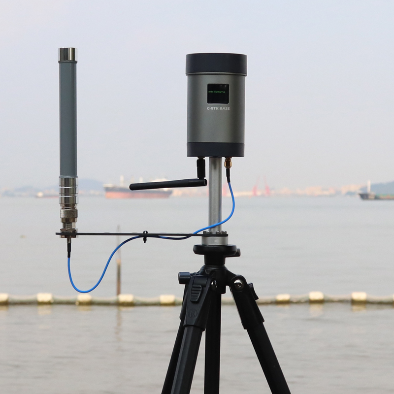US $1349 8 15% OFF|CUAV NEW C RTK BASE differential high precision GPS base  station system for measuring satellite positioning mapping whole sale-in