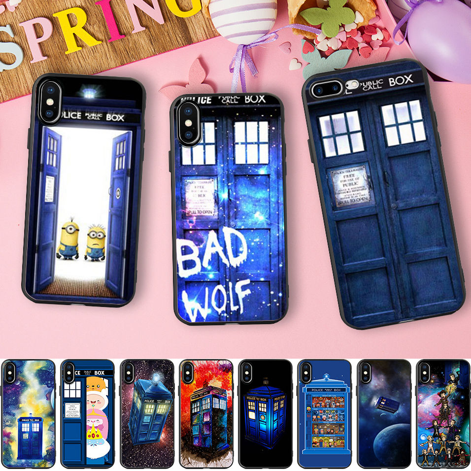 Half-wrapped Case Phone Bags & Cases Precise Maiyaca Tardis Box Doctor Who Diy Printing Drawing Phone Case Cover Shell For Iphone 8 7 6 6s Plus 5 5s Se Xr X Xs Max Shell