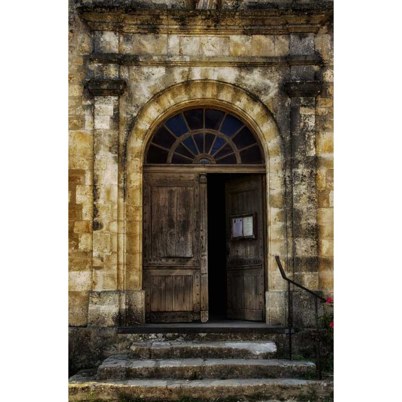 Chambre ancienne en laine polaire sans rides avec escalier en pierre photo accessoires photographie toile de fond pour studio photographie arrière-plans F-1543-A