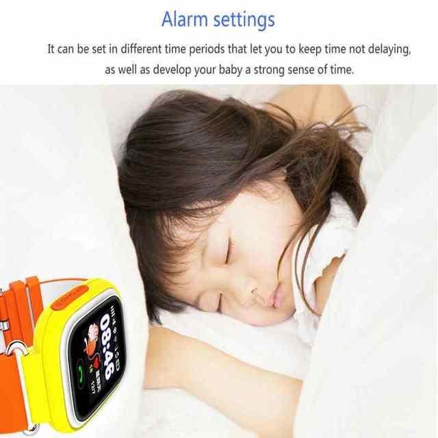 GPS Q90 Touch Screen WIFI Smart Watch Children SOS Call