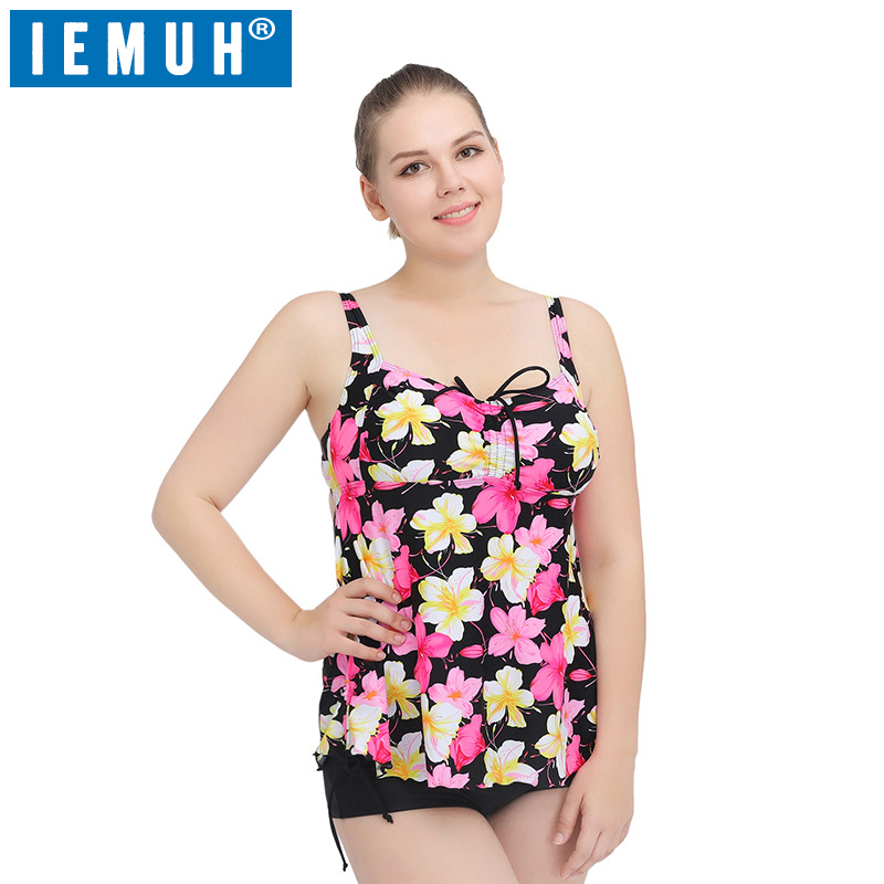 IEMUH One Piece Suits Bikinis Women Swimsuit Bathing Swim Suit Bikini Set Plus Size Swimwear Biquini Brazilian Swimwear Floral new one piece swimsuit brazilian bikini set sexy beachwear plus size swimwear women bikinis black bathing suit