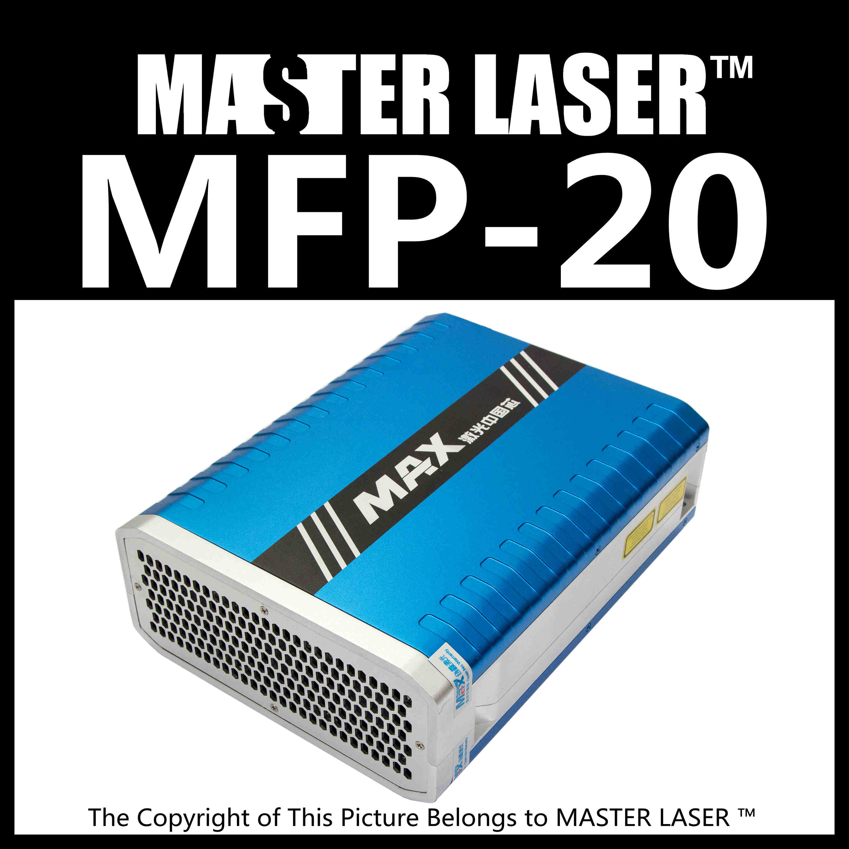 Low Price MAX PHOTONICS MFP-20  Laser Marking Machine DIY PART Fiber Laser 20w factory price 4mm marking machine pin with copper cover